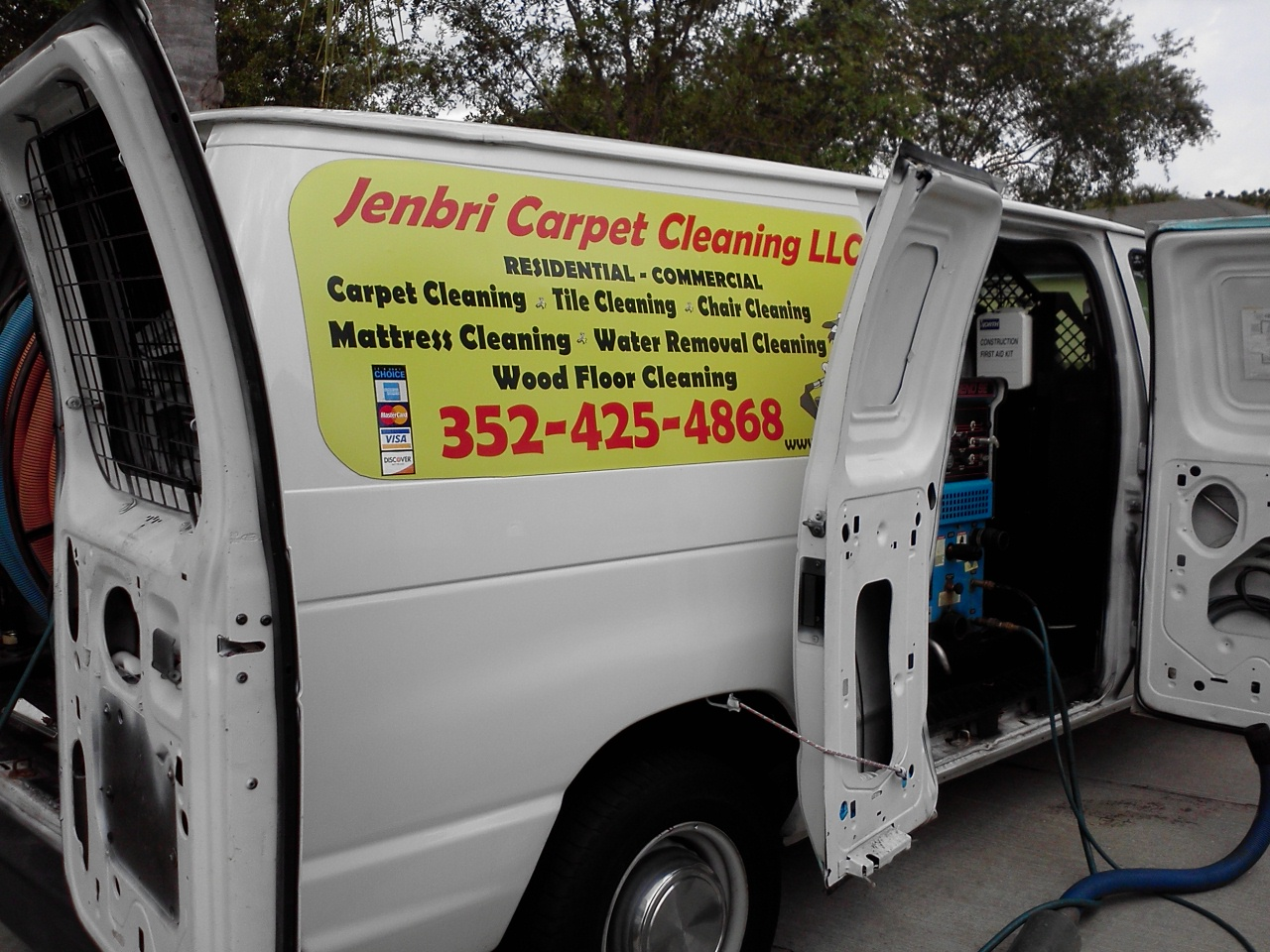 Online Scheduler For Jenbri Carpet Cleaning Llc In